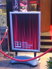 Opera Backstage London