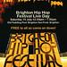 Brighton Hip Hop Festival Flyer