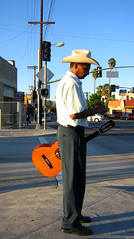 Busway Guitar Man (Eleventh Earl of Mar) Tags: california park bikepath bicycle evening football busway guitar soccer sunday sfv balboa reseda oxnard lurkation tarzana