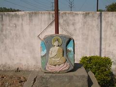 Buddha at Dhammavijay Centre, Pune