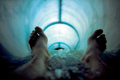 going down (lomokev) Tags: blue selfportrait feet me water japan lomo lca lomography toes kevin fuji tube slide lomolca slidefilm meredith fujichrome provia e6 lomograph waterpark lomokev kevinmeredith wildwildblue onlomohome submittedtojpg flickr:user=lomokev rota:type=showall rota:type=composition rota:type=accessories rota:type=portraits use:on=moo file:name=slide0200 fujifujichromeprovia published:title=hotshots hotshotspagenumber99 image:selection=tombing