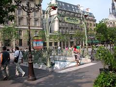 PARIGI - La Cit (gabrilu) Tags: paris france europe cityscape metro cit francia parigi mtroparisien