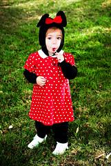 Happy Halloween again! (sesame ellis) Tags: halloween girl toddler candy mykid year2 minniemouse