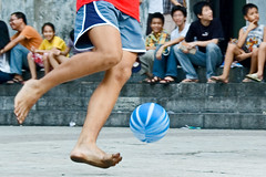 The beautiful game (Wen Nag (aliasgrace)) Tags: motion feet sport ball football movement asia play legs action soccer young vietnam 2550fav leisure freetime hanoi sparetime thepinnaclehof tphofweek23 thepinnacleblog