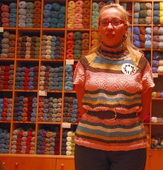 Is this a clever idea? (sifis) Tags: city wool shop sweater knitting knit athens yarn greece d200 pullover handknitting sakalak