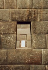 Windows on a string (rasmus_boegh) Tags: windows peru inca architecture stones cusco ruin coricancha