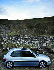 Portrait Sportif (furyksx) Tags: wales outdoors mine pass horseshoe slate saxo vts