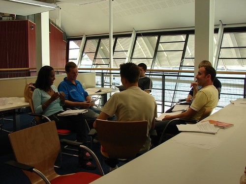 Group Work, Library and Learning Centre, UEL