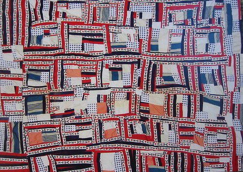 Irene Williams' Vote quilt