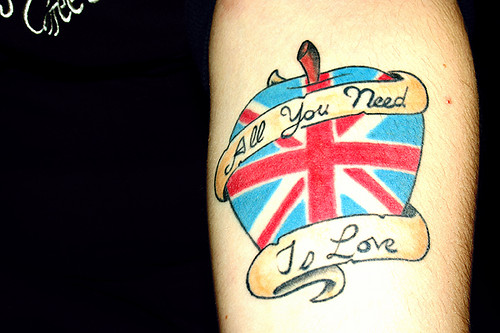 Nadia and Shannon Marie · Nadia's Beatles Tattoo