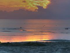 Sunset at Shtromka (dgaponenko) Tags: sunset sea sky water clouds coast scenery tallinn hdr tallin hdri talinn talin 3xp photomatix