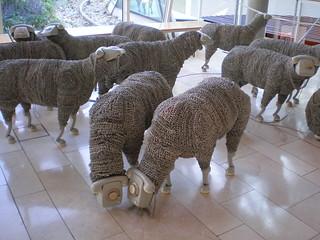 'Telephone Sheep', Jean Luc Cornec, Museum für Kommunikation, Frankfurt am Main
