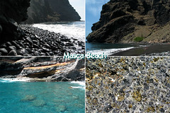 Masca Beach, Tenerife (Thomas Reichart ) Tags: ocean sea rock stone wave canyon bach tenerife gorge walls narrow barranco masca olivin
