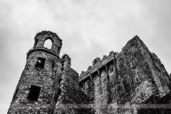 Blarney Castle, County Cork, Ireland (Seven Seconds Before Sunrise) Tags: travel ireland bw architecture clouds europe cork eire blarney blarneycastle