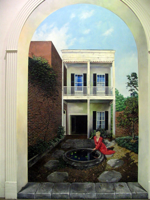 3 Dimensional painting at Opryland Hotel