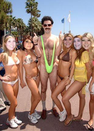 tutti frutti tv3 tjejer på stranden