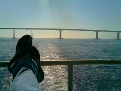 seria bacana... (MarioLonghi) Tags: rio ponte barcas niteri