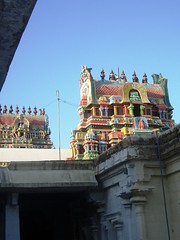 Temple architecture (*floydgal*) Tags: india south temples kumbakonam