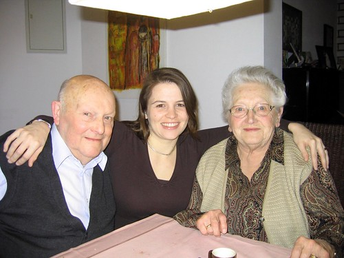 my Grandad, I and my great-aunt