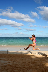 long jumping in paradise (lucy96734) Tags: beach hawaii interestingness oahu z familyfun longjump lanikaibeach abigfave