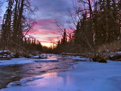 Into  Night (jack4pics) Tags: alaska river sundown matsu daysend helluva abigfave