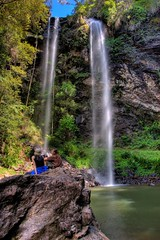 Twin Falls (Garry - www.visionandimagination.com) Tags: love nature landscape waterfall oz australia qld aus springbrooknationalpark i visionandimaginationcom visionandimagination wwwvisionandimaginationcom