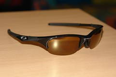 Jet Black/Gold Half Jacket (Tamas Debreczeni) Tags: sunglasses lens construction sony uv optical impact frame r1 polarized protection prescription oakley tints hydrophobic superiority hdo photochromic