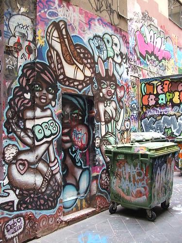 Graffiti - Sokak boyama sanatı