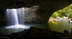 Natural Arch - Springbrook QLD Australia (Steve Grunberger) Tags: nature landscape waterfall nikon awesome australia naturalbridge stunning queensland d2h goldcoast springbrook nikond2h naturalarch