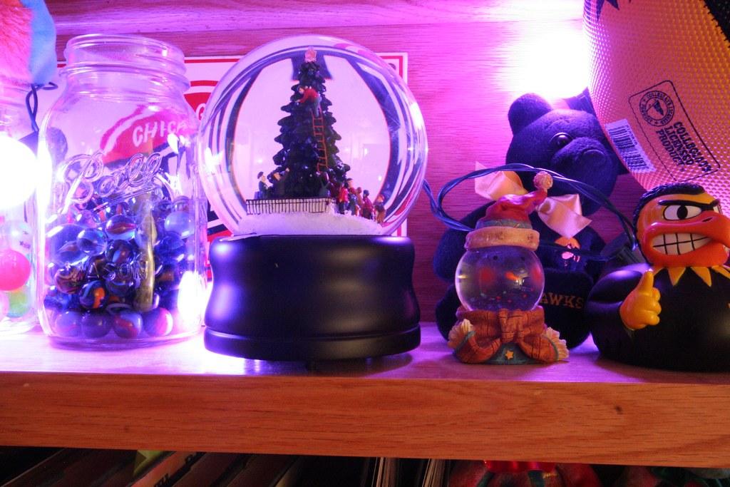 Lighted Toy Shelf