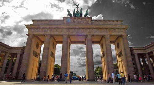 שער ברנדרבורג בברלין, גרמניה