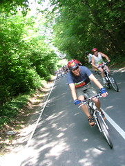 London to Brighton bike ride 2006