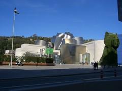 The Guggenheim in Bilbao (laurenipsum) Tags: spain honeymoon bilbao guggenheim