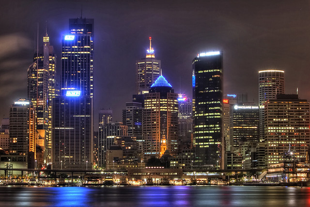 HDR Sydney City Scape