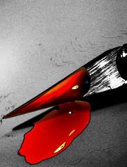 Pain (Bulsti) Tags: red rot hope sadness pain blood blut schnheit schmerz trauer hoffung