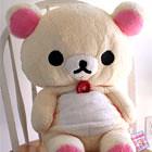 Giant Korilakkuma stuffed animal (pcowinc) Tags: japanesetoy rilakkuma giantstuffedanimal korilakuma cutestuffedanimal japanesestuffedanimal