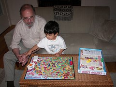 Dad + Mitchell + Candy Land (Kheiligh) Tags: thanksgiving dad mitchell candyland