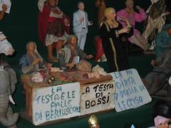 butcher (marcom X) Tags: italy puppet balls butcher napoli naples berlusconi palle gregorio presepe bossi armeno