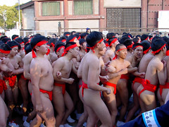 Boys In Fundoshi http://flickrhivemind.net/Tags/hadaka/Interesting