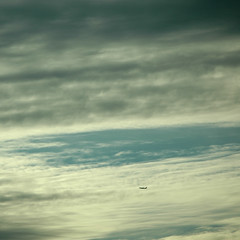 seattle sky triptych II (flight path)