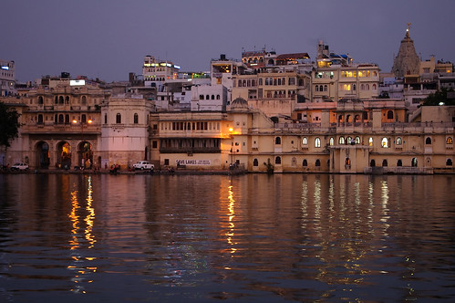 Udaipur at dusk