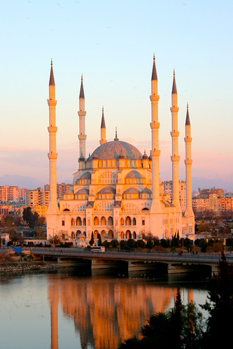 Sabancı Mosque at Sunrise