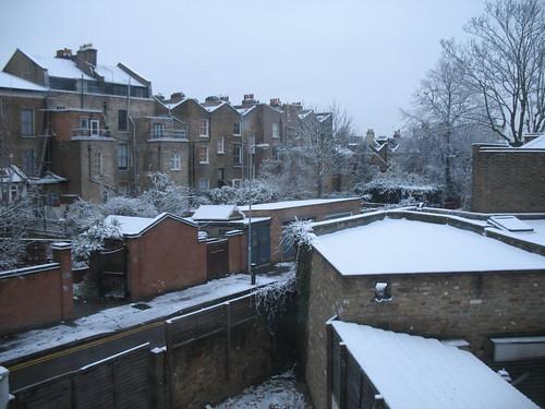 Through my window, one winter morning