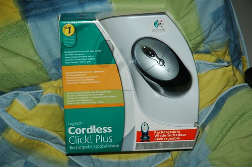 Logitech Cordless Click! Plus