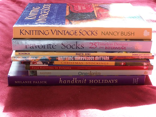 Knitting books 2007