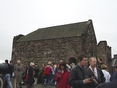 St Margaret's Chapel di Edinburgh Castle, Edinburgh, Scotland, United Kingdom