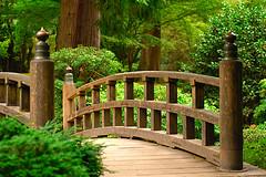 Wooden Bridge (nsited2x) Tags: bridge portland japanese japanesegarden interestingness crossing d2x zen pacificnorthwest nikkor lushgreen 80200mmf28dafs