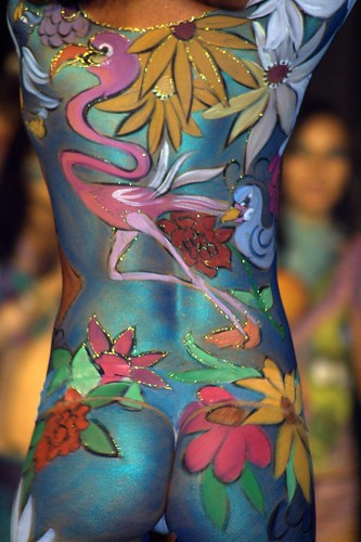 Totally Flower Body Art