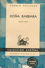 Rómulo Gallegos, Doña Barbara