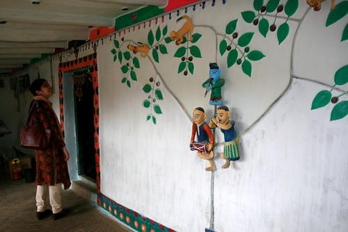 Minhazz at Sonabai's house